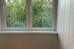 панели для обшивки балкона внутри