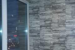 обшивка балкона внутри декоративной кладкой