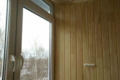 обшивка внутри балкона вагонкой в москве