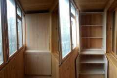обшивка внутри балкона вагонкой в москве и московской области