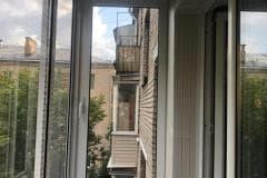 отделка балкона окна
