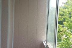 обшивка балконов внутри пластики