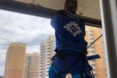 балкон ключ остекление