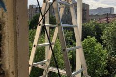 остекление балконов метров