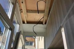 натяжные потолки отделка балконов