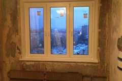 монтаж окно