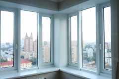отделка откосов на балкон