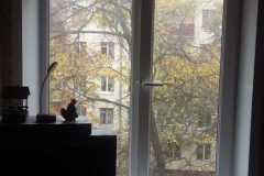 отделка откосов со стороны балкона